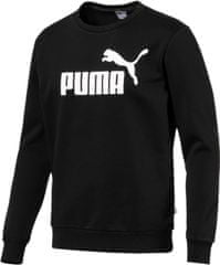 Puma Ess Logo Crew Sweat Fl Big Logo Bla