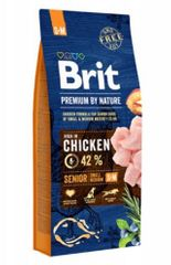 Brit hrana za pse Premium by Nature Senior, S/M, 1 kg