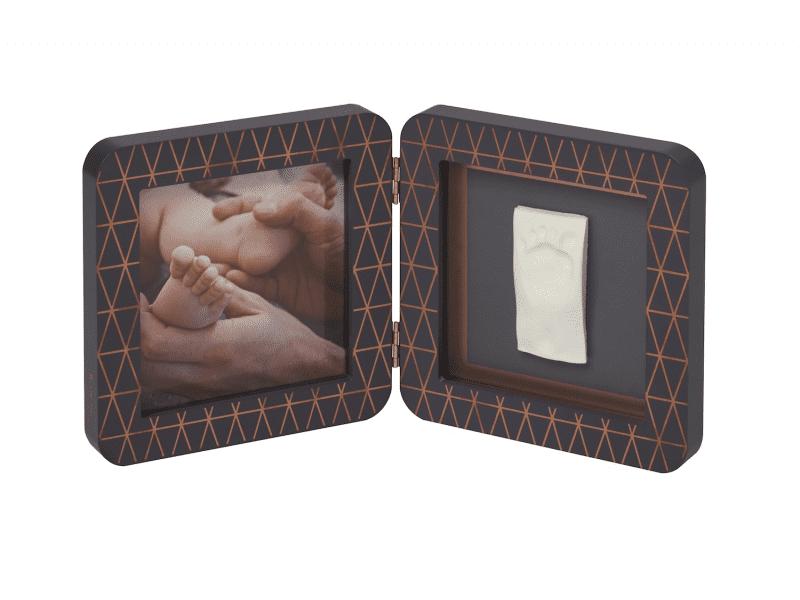 Baby Art Rámeček My Baby Touch Wood Copper Edition Dark