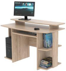 Praktický PC stůl DEJVID, dub sonoma