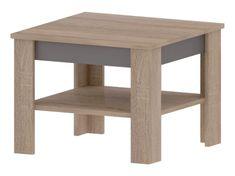 MADDAGASKAR A, konferenční stolek, dub sonoma/grafit