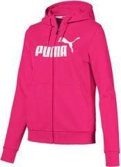 Puma Ess Logo Hooded Jacket Fl
