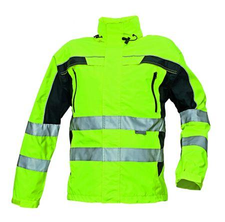 Červa Reflexná pracovná bunda Ticino pánska žltá  XXL