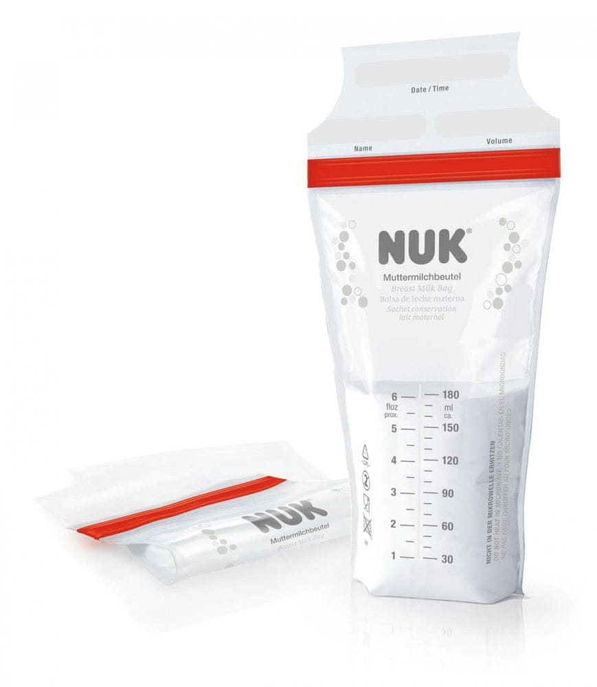 Nuk Sáčky na mateřské mléko 25ks