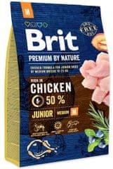 Brit hrana za pasje mladiče Premium by Nature Junior M, 3 kg