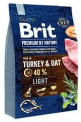Brit hrana za pse Premium by Nature Light, 3 kg