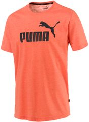 Puma Koszulka męska Ess+ Heather Tee Firecracker Heather
