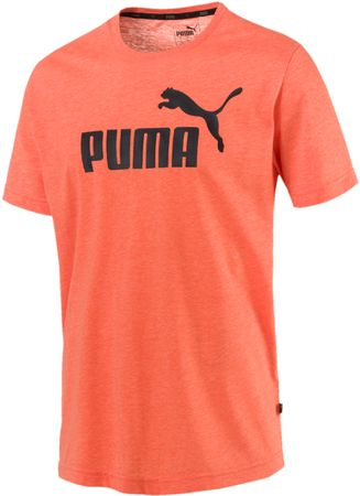 Puma Ess+ Heather Tee Firecracker Heather S