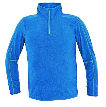 Červa WELBURN fleecová bunda modrá 3XL
