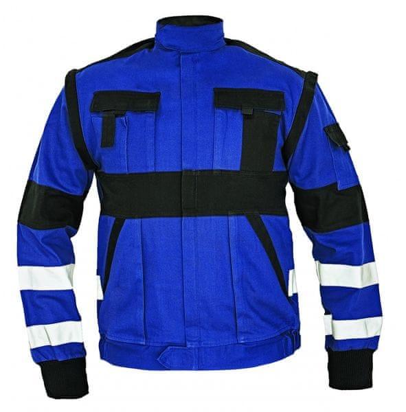 Červa MAX RFLX bunda modrá/černá 62