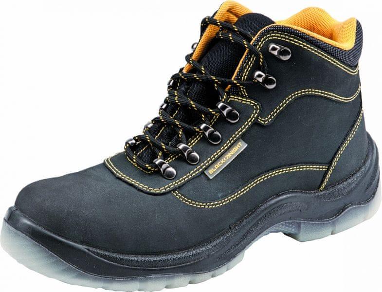 37afb48e77a Black Knight BLACK KNIGHT TPU S3 kotníková obuv černá 39