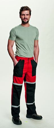 Červa TAYRA kalhoty červená 48
