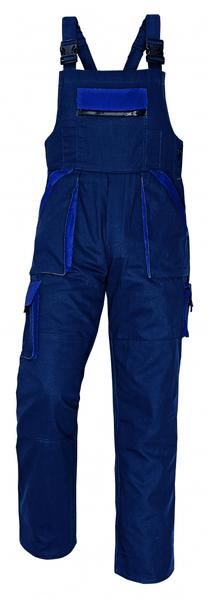 Červa MAX kalhoty s laclem modrá 56