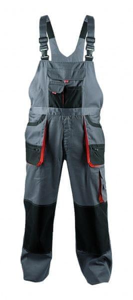 Fridrich&Fridrich FF CARL kalhoty s laclem šedá 56