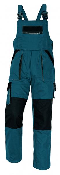 Červa MAX kalhoty s laclem zelená 56