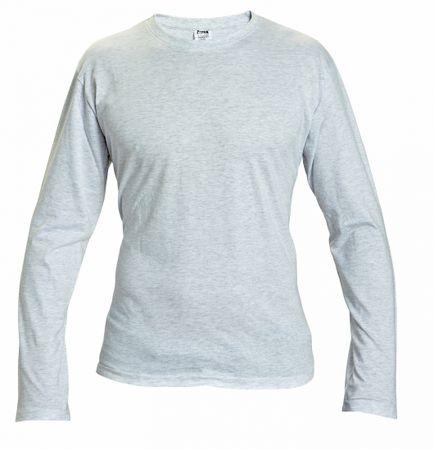Červa CAMBON triko s dlouhým rukávem šedá XXL  26dfd08ec9