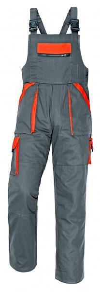 Červa MAX kalhoty s laclem šedá 56