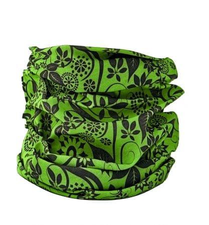 CRV CLIF multifunkční šátek zelená