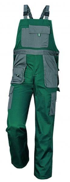 Červa MAX EVOLUTION kalhoty s laclem zelená 56