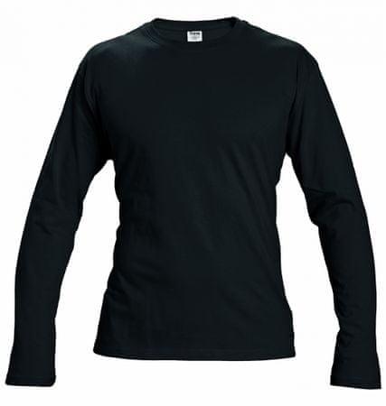 Červa CAMBON triko s dlouhým rukávem černá L  9ed31a47fb
