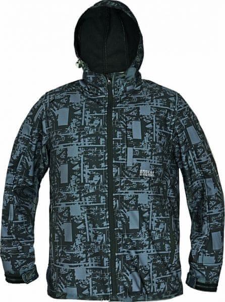 CRV GLASSON softshellová bunda černá L