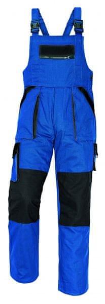 Červa MAX kalhoty s laclem modrá/černá 56