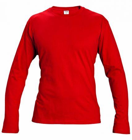 Červa CAMBON triko s dlouhým rukávem červená XL  40e4324c30