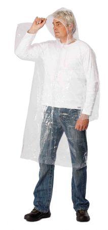 Červa PE pláštěnka bílá