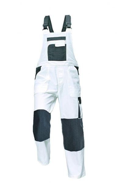 Assent ASSENT TAUPO kalhoty s laclem bílá 62