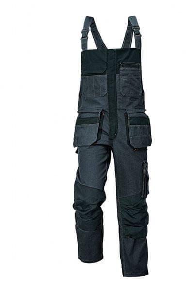 Assent ASSENT RENMARK kalhoty s laclem šedá 62