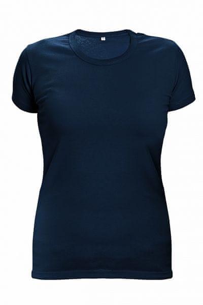 Červa SURMA LADY tričko modrá/tmavě modrá XL