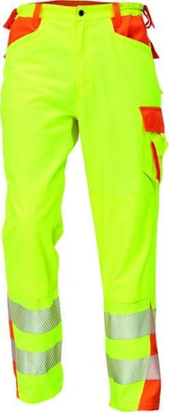 Červa LATTON Hi-Vis kalhoty žlutá 62