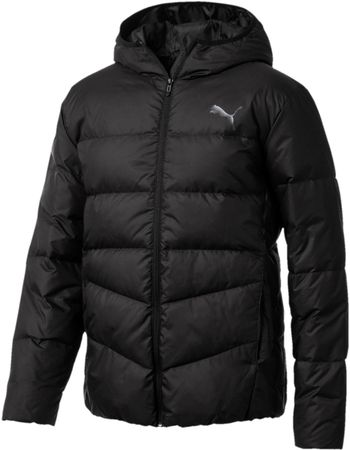 Puma Ess 400 Down Hd Jacket Black M