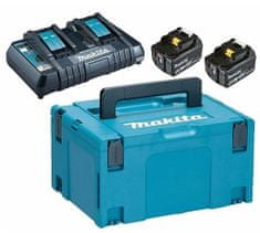 Makita LXT power set, Makpac Tip3, BL1850B x2, DC18RC