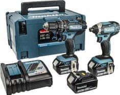 Makita komplet akumulatorskega orodja DLX2131JX1