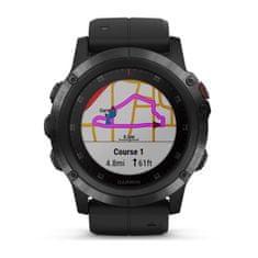 Garmin zegarek Fenix 5X Plus Sapphire, Black, Black band