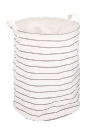 TimeLife Kosz na pranie 37 l biały