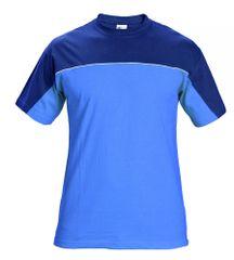Stanmore Bavlnené pracovné tričko modrá L