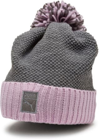 Puma kapa Archive Pom Beanie Light Gray Heather