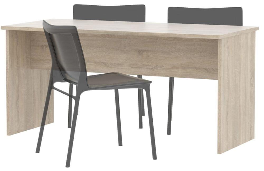 Stůl jednací SJH112 dub sonoma