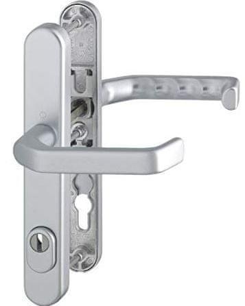 Hoppe aluminijasta kljuka na ščit Liverpool, 1313G/3357N F1 KK 67-72 92mm