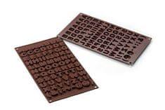 Silikomart Silikonová forma na čokoládu – abeceda