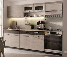 Kuchyně MOORENO II 180/240 cm, dub picard