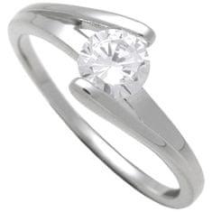 Brilio Silver Stříbrný zásnubní prsten 7111048 stříbro 925/1000