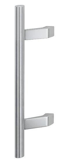 Hoppe čelična i aluminijska kvaka F69 / F1 za ulazna vrata, 500/300 FI 30