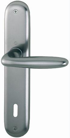 Hoppe aluminijasta kljuka na ščit Verona 1510/273P OB F9