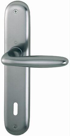 Hoppe aluminijasta kljuka na ščit Verona 1510/273P PZ F9