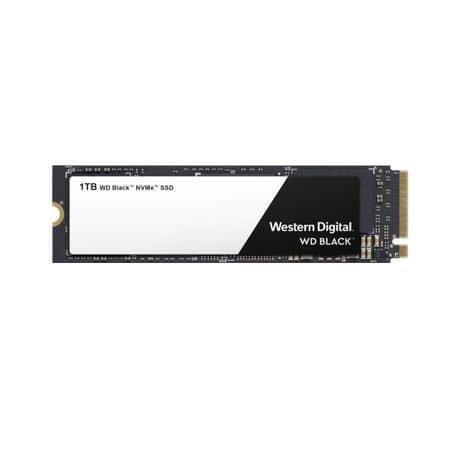 WD SSD disk Black NVMe 1 TB, M.2, NVMe x4