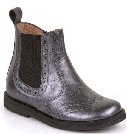 Froddo dívčí kotníčkové boty 25 černá  395d5c3c40