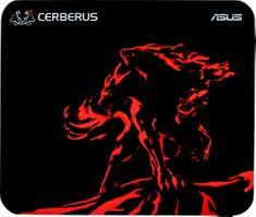 Asus gaming podloga za miško Cerberus Mini, rdeča